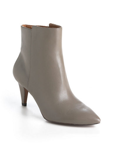 NINE WEST Junia Leather Ankle Boots