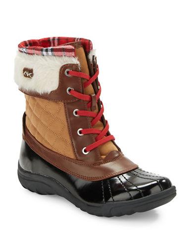 ANNE KLEINGrania Faux Fur-Trimmed Snow Boots