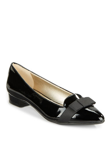 ANNE KLEIN Kyrena Patent Leather Flats