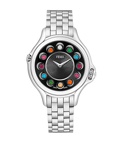 FENDI Ladies Crazy Carats Stainless Steel Watch