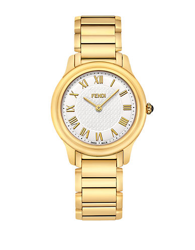 FENDI Ladies Medium Classico Gold-Tone Watch