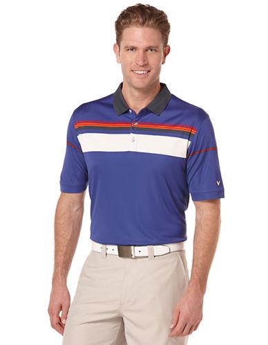 CALLAWAYYarn-Dyed Blocked Stripe Polo