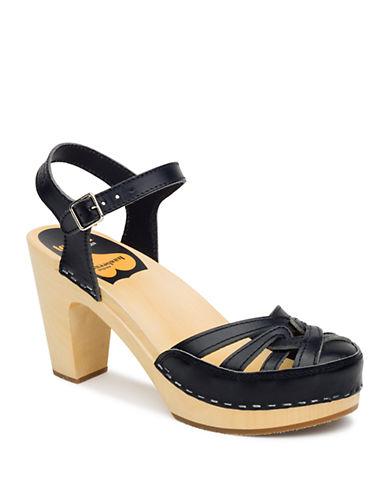 SWEDISH HASBEENSAgneta Leather Platform Sandals