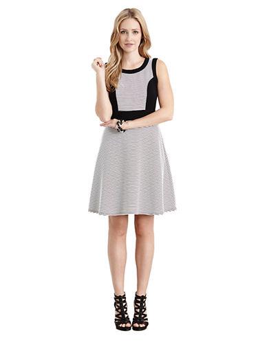 Shop Karen Kane online and buy Karen Kane Contrast Panel Dress dress online