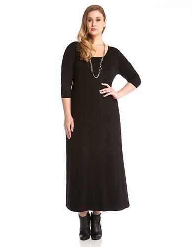 KAREN KANE PLUSPlus Jersey Maxi Dress