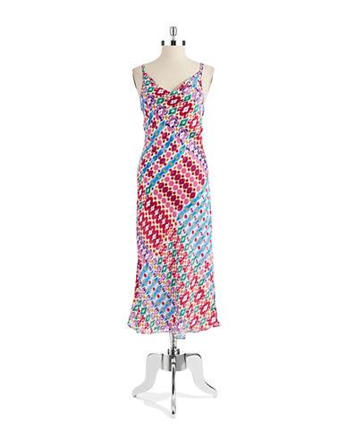 N NATORIDrape Neck Nightgown