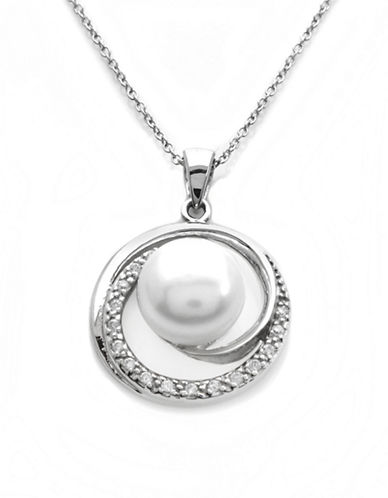 LORD & TAYLORSterling Silver and Pearl Pendant Necklace