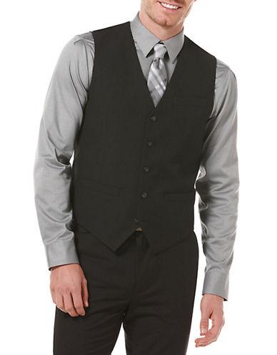 PERRY ELLISClassic Fit Solid Suit Vest