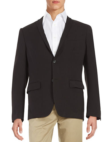 PERRY ELLIS Slim-Fit Two-Button Blazer