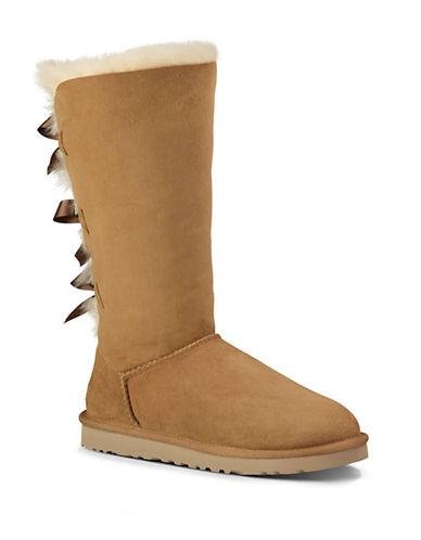 UGG AUSTRALIABailey Bow Sheepskin Tall Boots