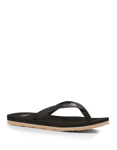 c3fb7da4786414 UPC 737045379302. ZOOM. UPC 737045379302 has following Product Name  Variations  Ugg Australia Magnolia Womens Leather Flip Flops ...