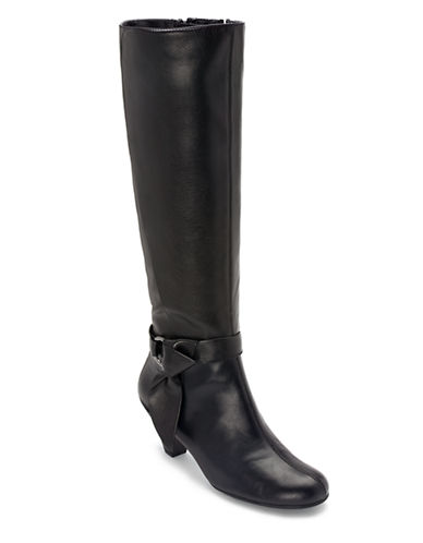 AEROSOLESInfamous Synthetic Leather Knee-High Boots