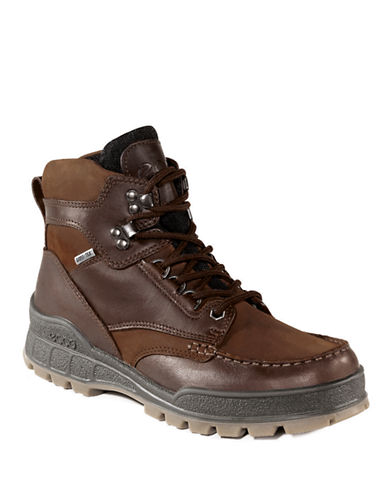 ECCOTrack II High Leather Ankle Boots