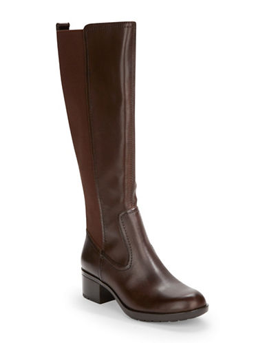 Buy Balmana Leather Knee-High Boot by Bandolino online