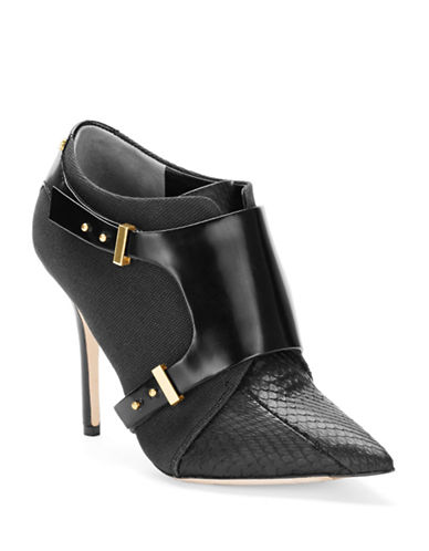RACHEL ROY Ralena Leather Ankle Boots