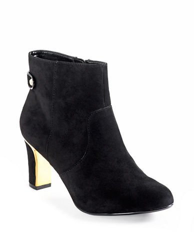 ANNE KLEINSukey Suede Ankle Boots