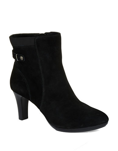 ANNE KLEINStoke Suede Ankle Boots