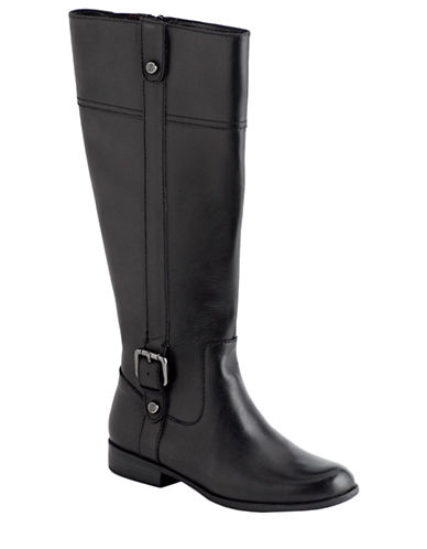 ANNE KLEINCiji Leather Knee-High Boots