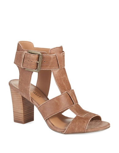 NINE WEST Jerianne Buckle Sandals