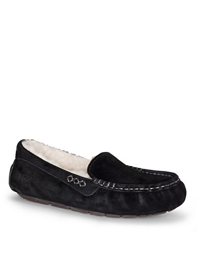 UGG AUSTRALIALadies Ansley Suede Moccasin Slippers