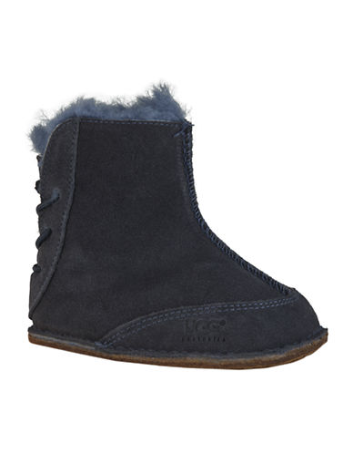 Ugg Australia Baby Fleece-Lined Sheepskin Boo Boots