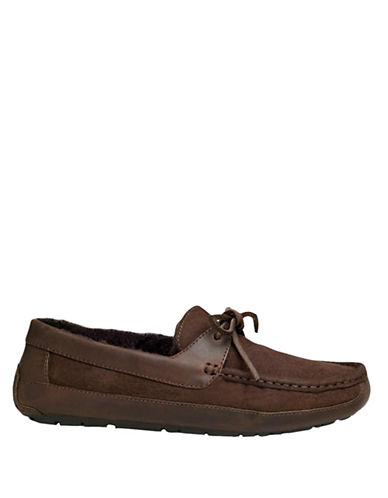 UGG AUSTRALIA Mens Byron Moccasin Slippers