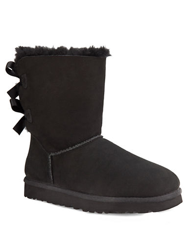 UGG AUSTRALIALadies Bailey Boots with Bow Accents