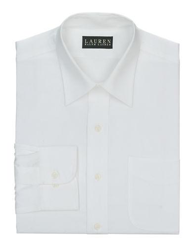 LAUREN RALPH LAURENSlim Fit French Cuff Pinpoint Oxford Warren Dress Shirt