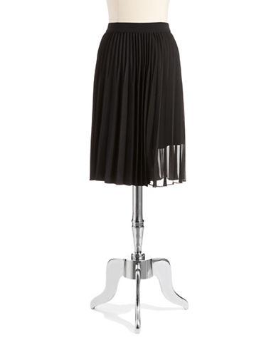 ELIE TAHARIPleated Skater Skirt