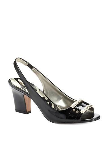 ANNE KLEINUrbain Peep-Toe Sandals