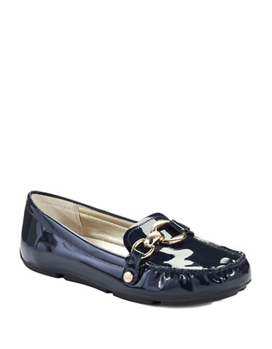 ANNE KLEINMyles Patent Leather Loafers