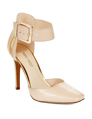 NINE WEST Legna Ankle Cuff Pumps