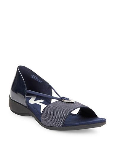 Buy Kameko Textural Sandals by Anne Klein online