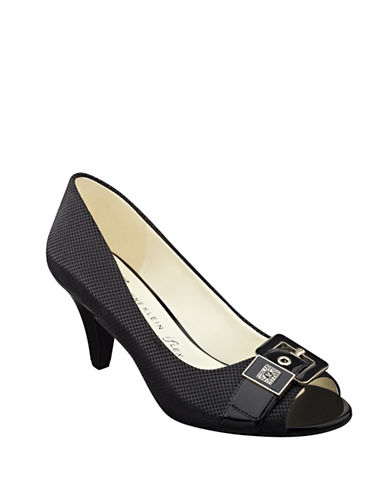 Buy Dane Textural Buckle Pumps by Anne Klein online
