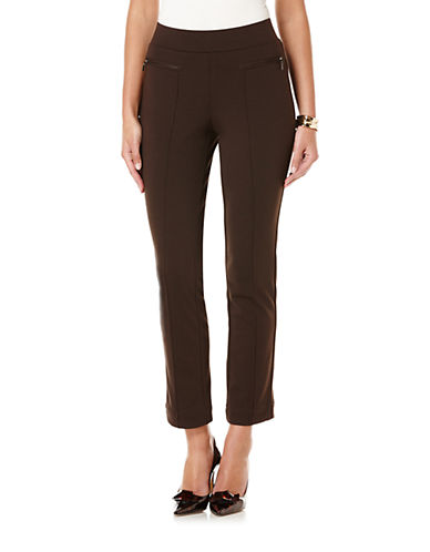 RAFAELLA Straight-Leg Pants