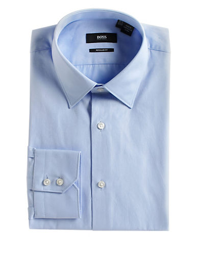 HUGO BOSS Slim Fit Cotton Dress Shirt
