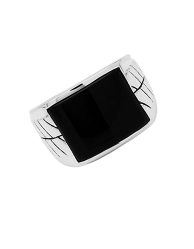 LORD & TAYLORSterling Silver Onyx Ring