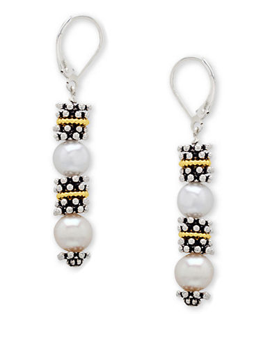 LORD & TAYLORSterling Silver and Freshwater Pearl Earrings