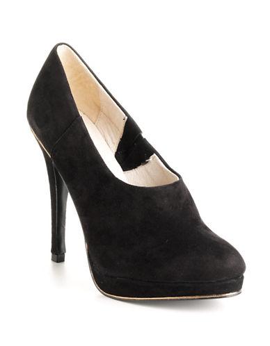 JUICY COUTUREEylssa Suede Platform Ankle Boots