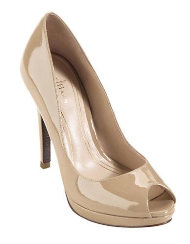 COLE HAANChelsea Patent Leather Open-Toe Pumps