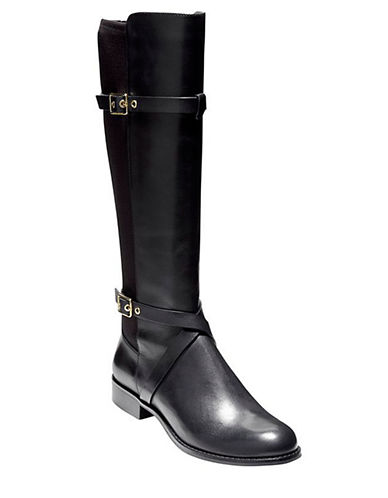 COLE HAAN Dorian Leather Riding Boots