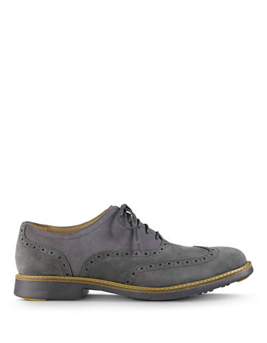 COLE HAAN Great Jones Leather Wingtip Oxfords