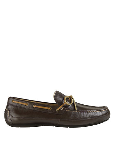 COLE HAANHalsted Leather Camp Driving Moccasins