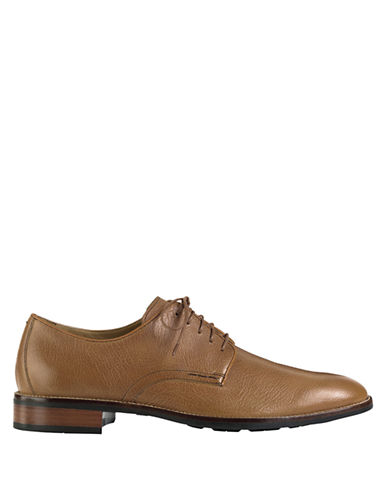 COLE HAAN Lenox Hill Leather Plain Toe Oxfords