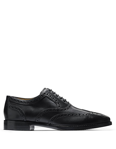 COLE HAAN Cambridge Leather Wingtip Oxfords