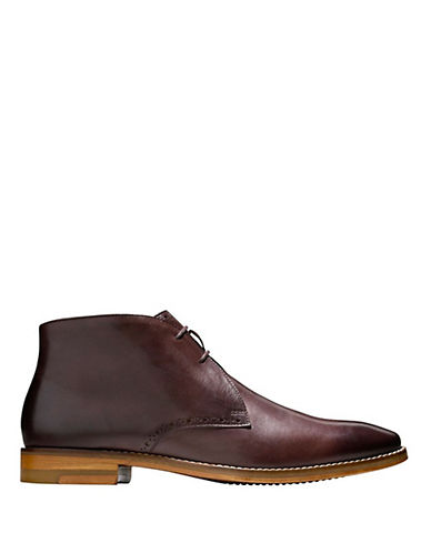 COLE HAAN Cambridge Leather Chukka Boots