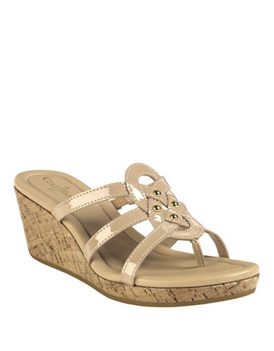 COLE HAAN Shayla Wedge Sandals