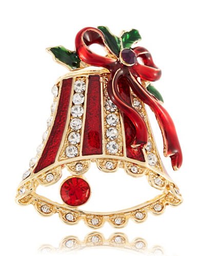 R.J. GRAZIANOHoliday Bell Brooch