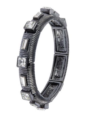R.J. GRAZIANORhinestone Accented Stretch Bracelet