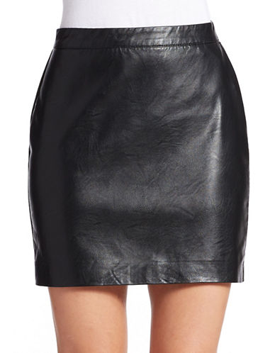 BLANK NYCVegan Leather Skirt